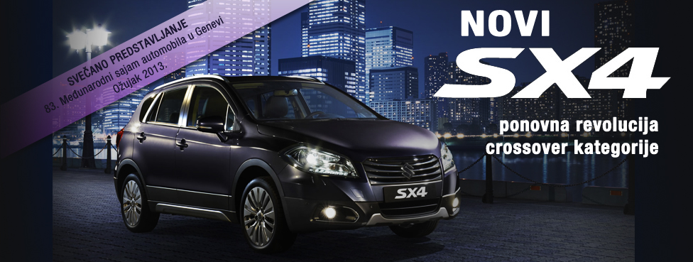 SX4 S-Cross najava